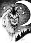 Dreamy Fjordhorse by Cederin