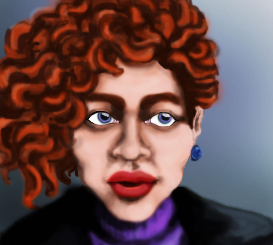 Study Portrait by lizbeth-boo-nana