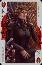 Game of Thrones card: Cersei Lannister