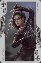 Game of Thrones card: ... Uhm. A girl has no name!