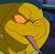 Dark Mikey Icon 2 by DarkMutantCat-Turtle