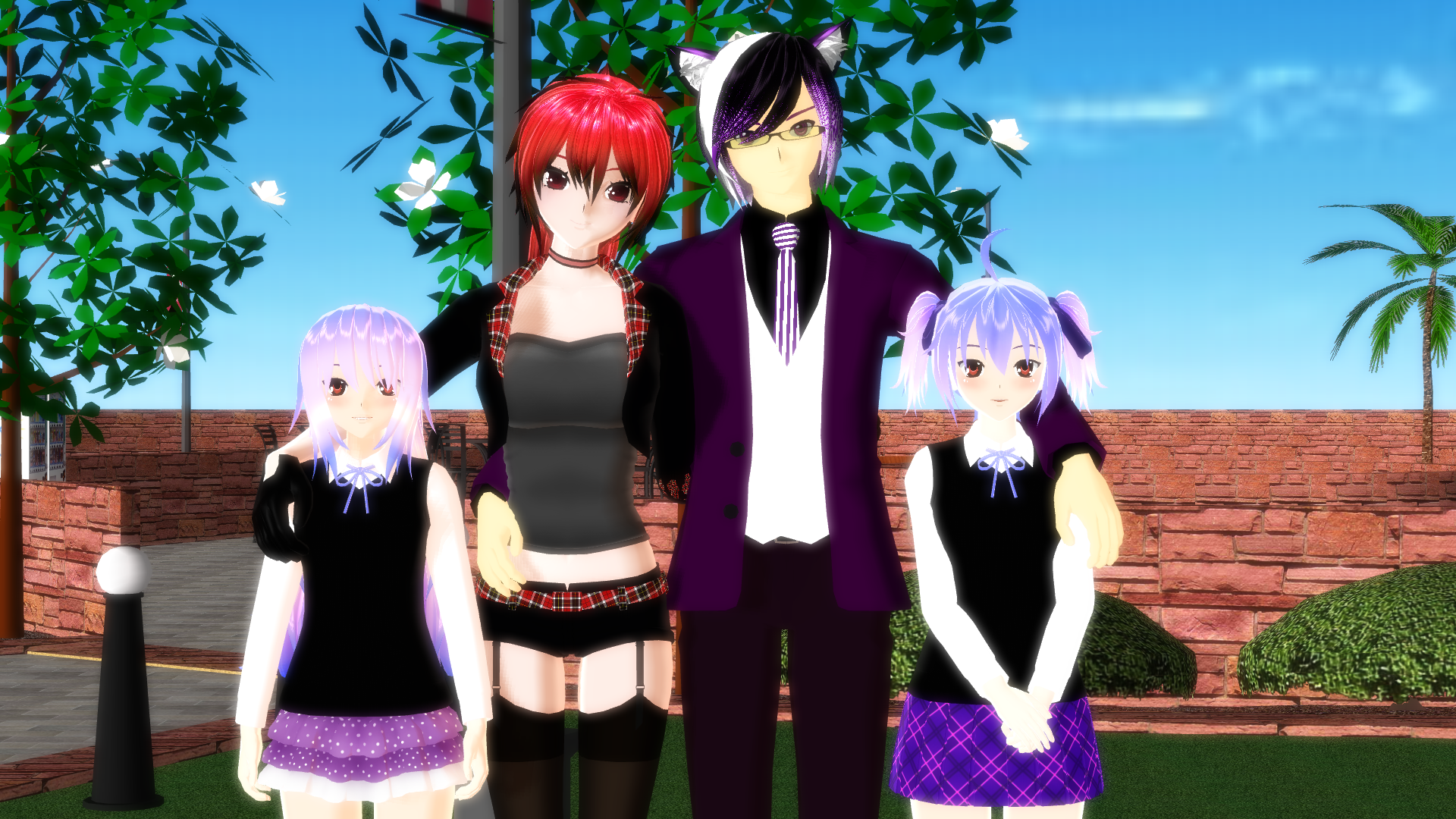 Family photo by Galatea-san