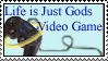 Gods Video Game Stamp by Donaruie