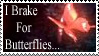 Fatal Frame Butterfly Stamp by Donaruie