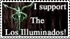 Los Illuminados Stamp by Donaruie