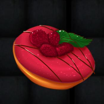 Raspberry Donut by xLittleA