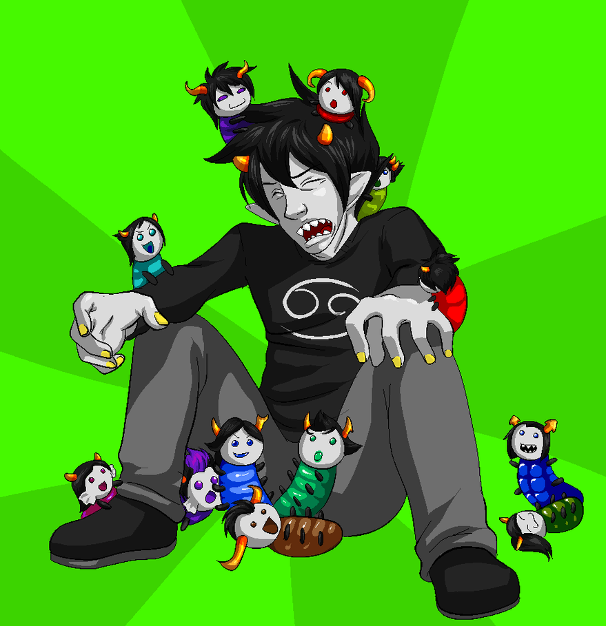 Displaying 18> Images For - Homestuck Grub Sprites...