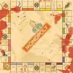 Fallout 3 Monopoly Board