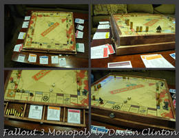 Fallout 3 Monopoly Set by swanboy