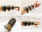 Leather Steampunk Bracer