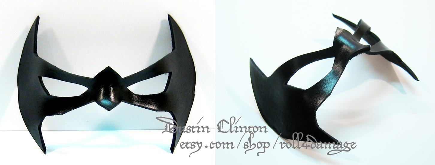 New 52 Leather Nightwing Mask by swanboy on DeviantArt