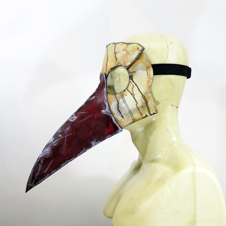 Plague Doctor Mask by swanboy