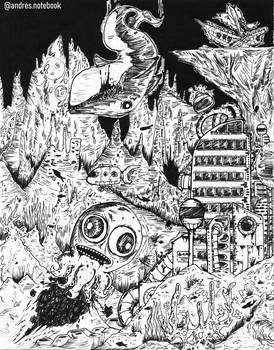 Under the sea - Doodle