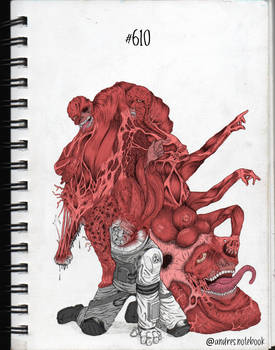 610 - The flesh that hates - Digital color