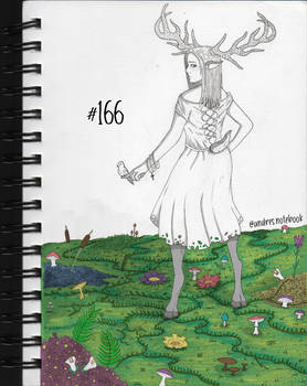 166 - Teenage succubus - digital color