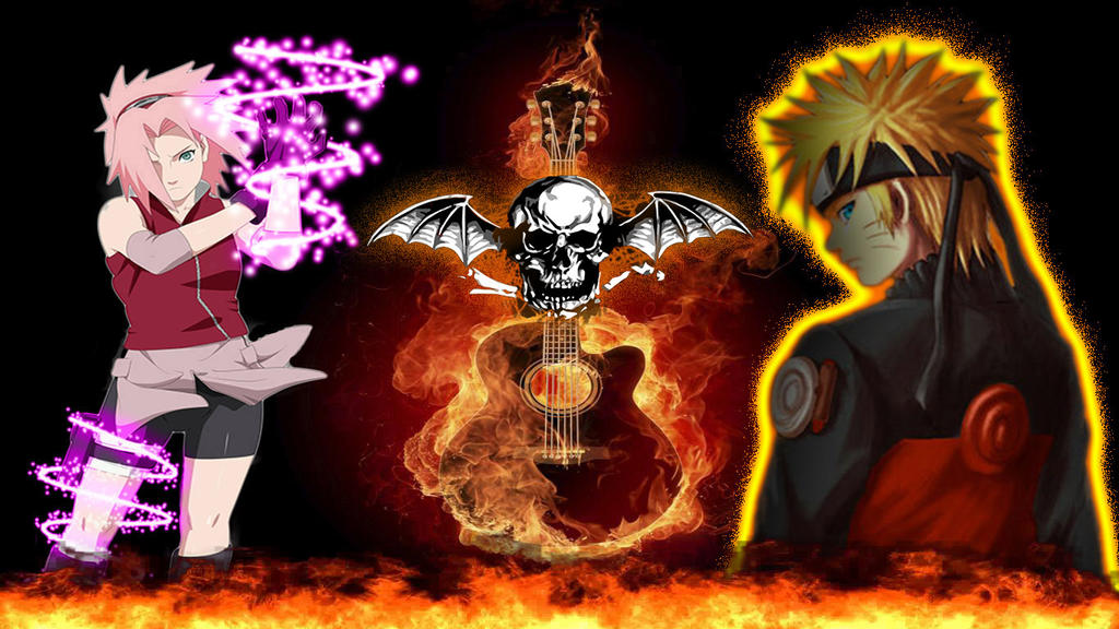 Naruto and a7x by skyness38 on deviantart naruto and a7x by skyness38 voltagebd Gallery