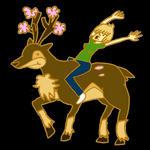 Animated Sawsbuck Ride by sweetlynumb63