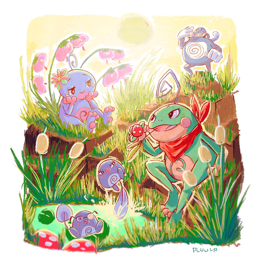 Politoed by plUUlp