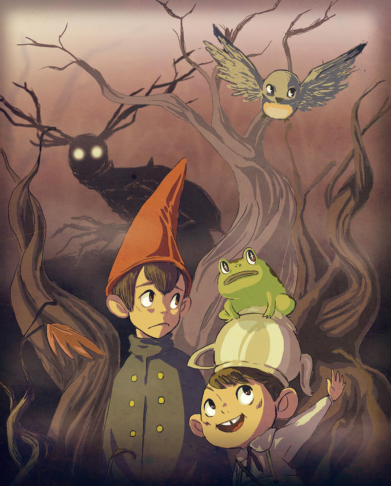Over The Garden Wall By Pluulp On Deviantart