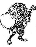 Lion Tribal by Korvuus