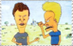 Beavis and Butthead stamp by ToxicKrieg