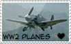 WW2 plane stamp by ToxicKrieg