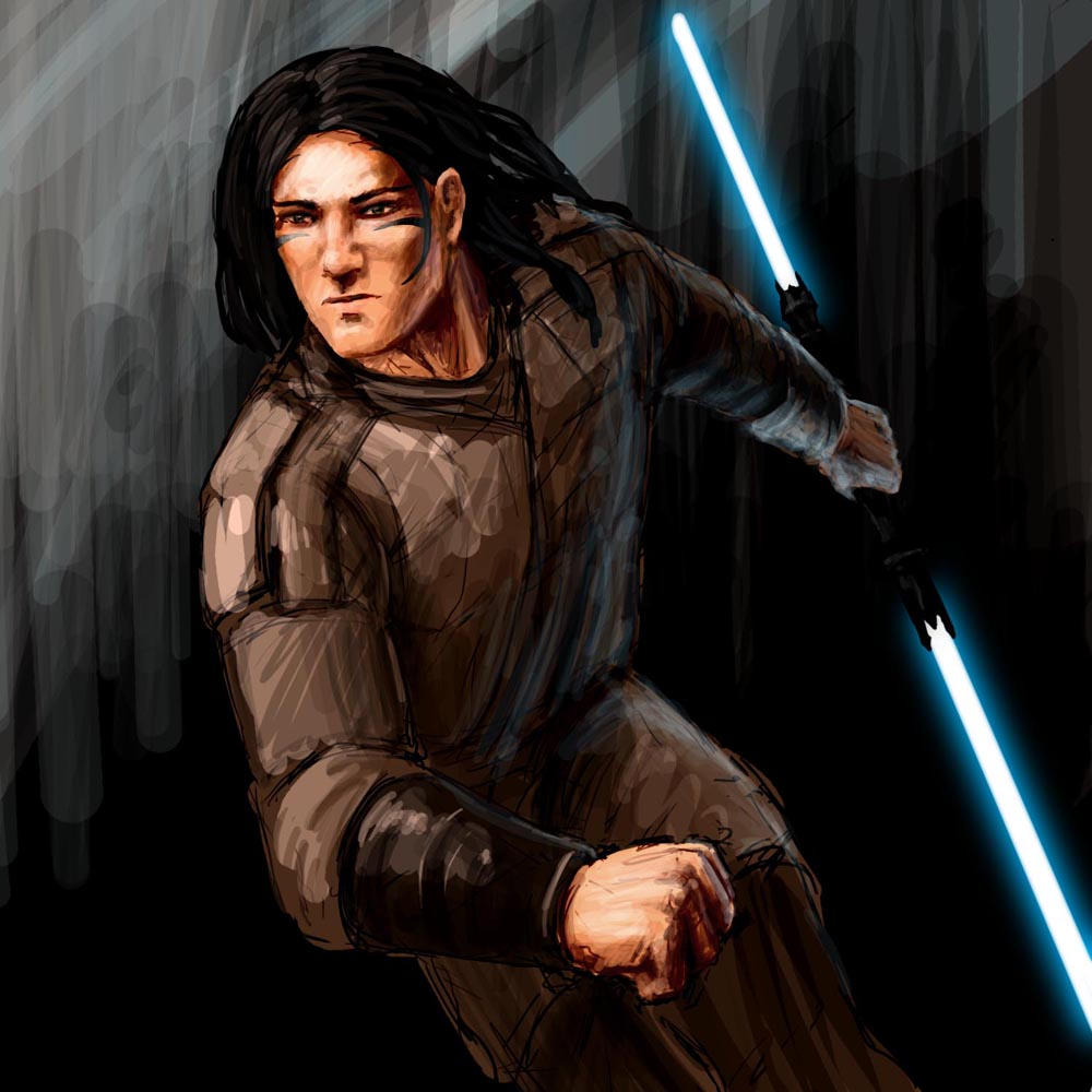 Old concept of Kelan by nattzvart