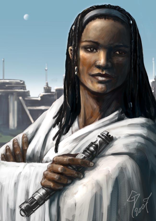 Sebastin Tra - Jedi Master by nattzvart