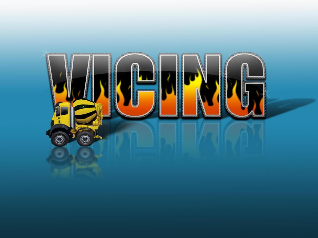 vicing logo _ car walpepervicing on deviantart