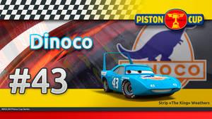 Pixar Cars -The King