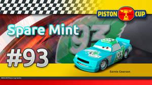 Pixar Cars -Earnie Gearson