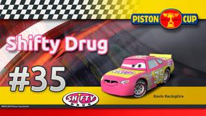 Pixar Cars - Kevin Racingtire