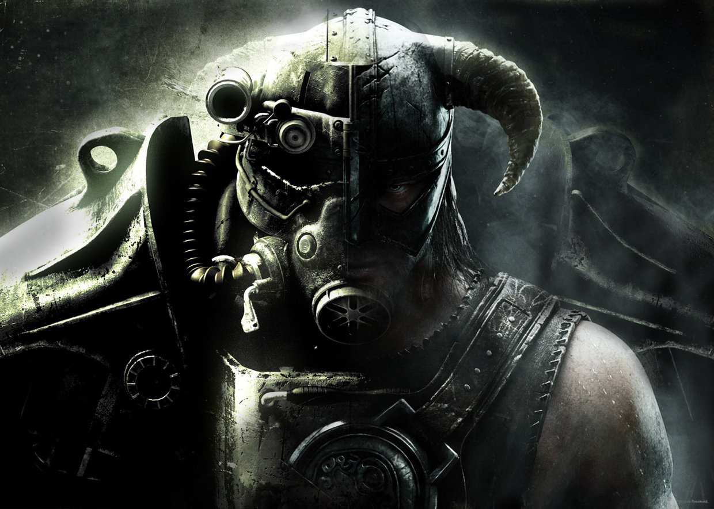 Fallout-skyrim mashup by SabreShark