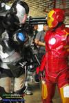 War Machine Vs.  Iron Man