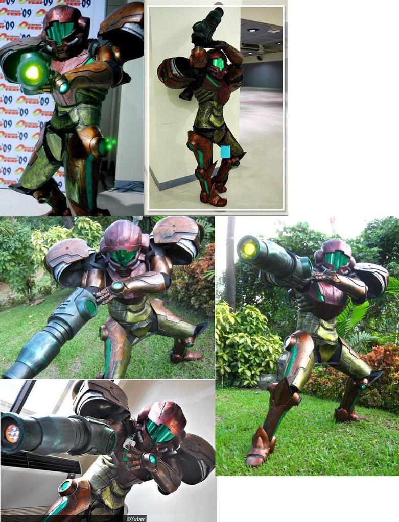how to make samus armor