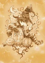 ATC Halloween Fox