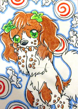 ATC Cute Puppy and Candy