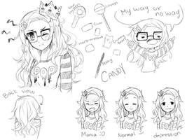 Iori doodles by Yuushiki