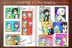 [HH] Chapter 1   The meeting! by Yuushiki