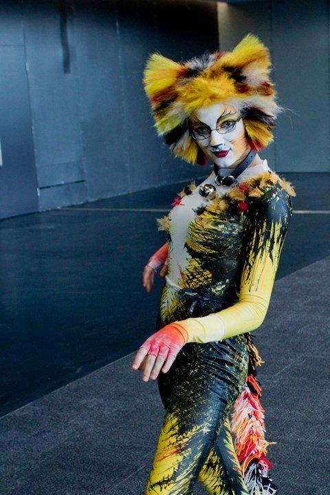 CATS-Demeter costume by XxShoneSoBrightly