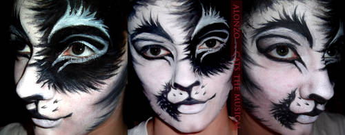 Alonzo Face Paint by XxShoneSoBrightly