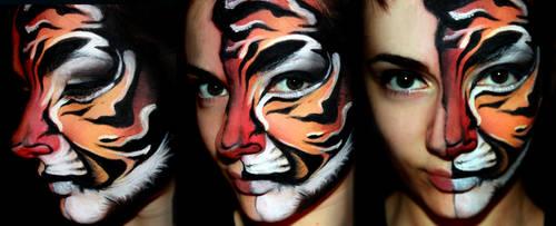 Sunset Tiger. by XxShoneSoBrightly