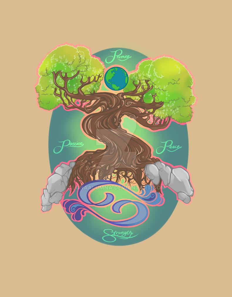 Nature Love Tattoo Idea by Jeanniebear