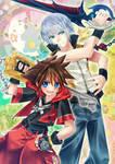 Riku and Sora- DDD