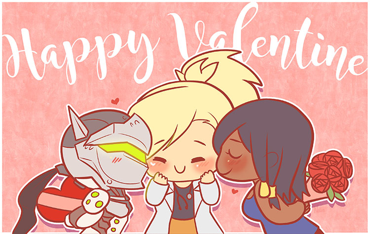 Happy Valentine 2017 by NalinSketch