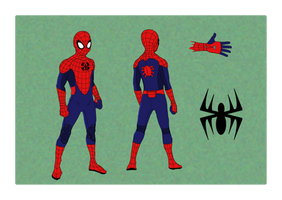 Spider-Man Suit Concept by KayHallow