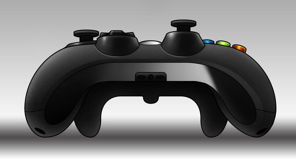 design study - xbox controller by Karollos