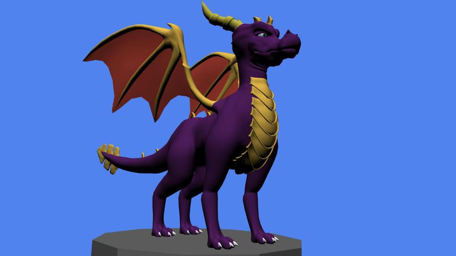 Buy model Spyro by DebiTheFox