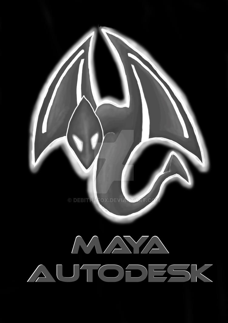 poster Maya Autodesk by DebiTheFox