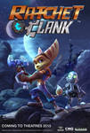 Ratchet and Clank Movie poster 2